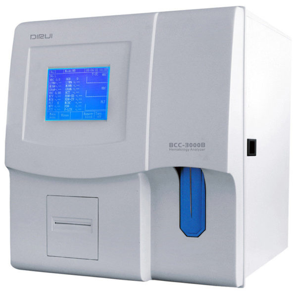 Гематологический автоматический анализатор Dirui BCC-3000B  Госреест СИ и МИ. Доставка по России