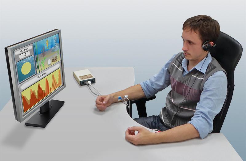Устройство психофизиологическое телеметрическое «Реакор-Т» (Оборудование для тренинга с биологической обратной связью и нейробиоуправления)