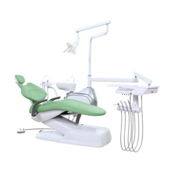 Стоматологическая установка Ajax AJ 11 с верхней подачей инструментов.