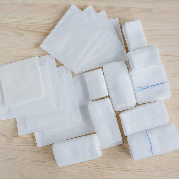 Салфетки бумажно-полиэтиновые Биомедикал (2100х670мм) 135/75