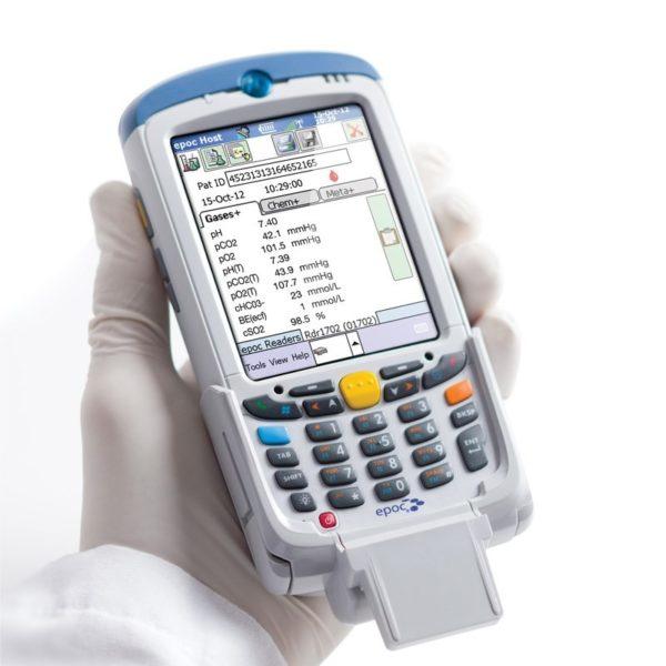 Портативный экспресс анализатор крови Epoc Reader