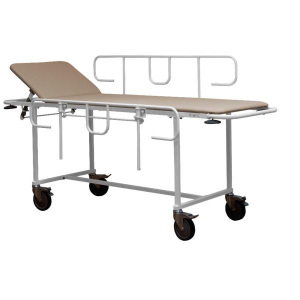 Тележка для перевозки больных внутрикорпусная ТПБВ-01 «Д» (Колеса диаметром 150 мм)