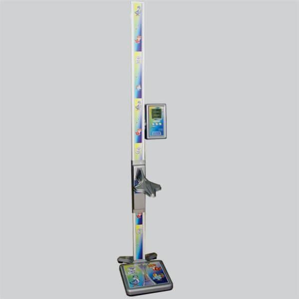 Весы напольные медицинские электронные с функцией измерения роста ВМЭН-150-50/100-С-СТ-А