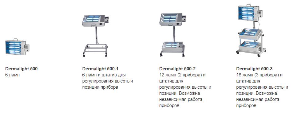 Аппарат Dermalight 500