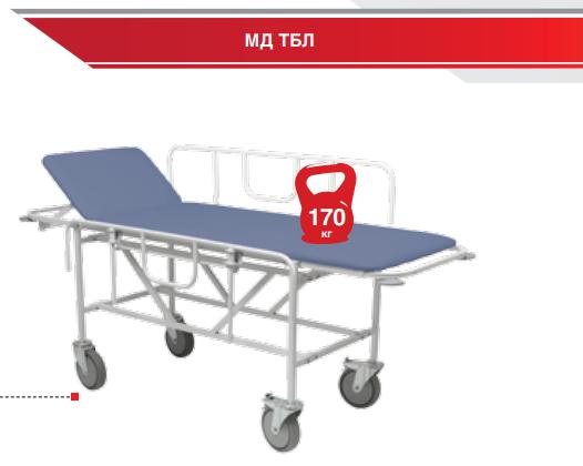 Тележка медицинская HILFE МД ТБЛ-01