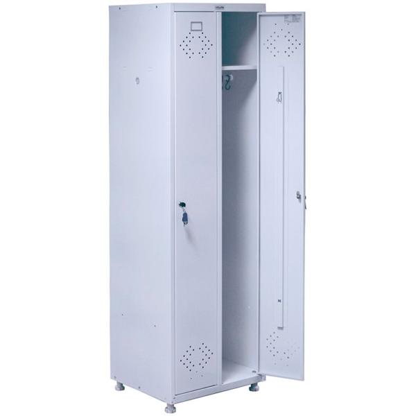 Медицинские шкафы для раздевалок HILFE МД 2 ШМ-SS
