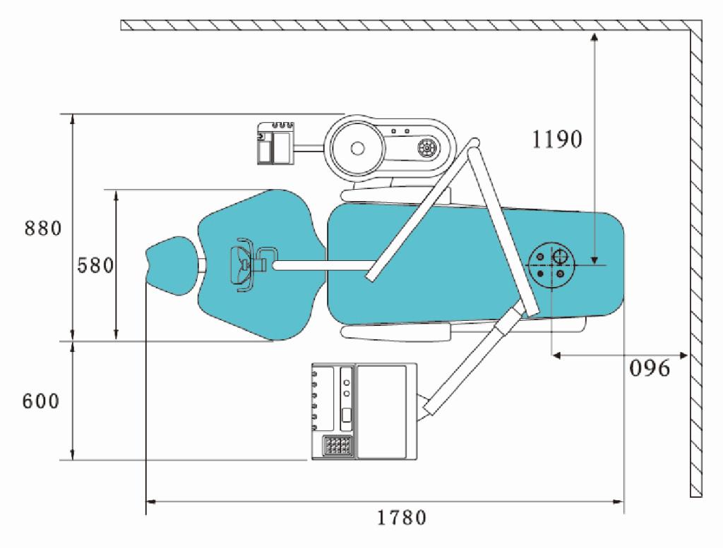 Стоматологическая установка Roson KLT 6210 N1 Lower